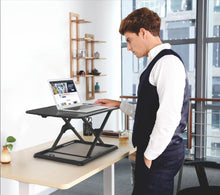Adjustable Sit Stand Laptop Table