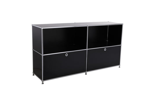 Storage and Filing Cabinet, 2 Drawers, KF-1500H80DR2