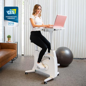 Demo Sample of Flexispot Exercise Bike with Desk