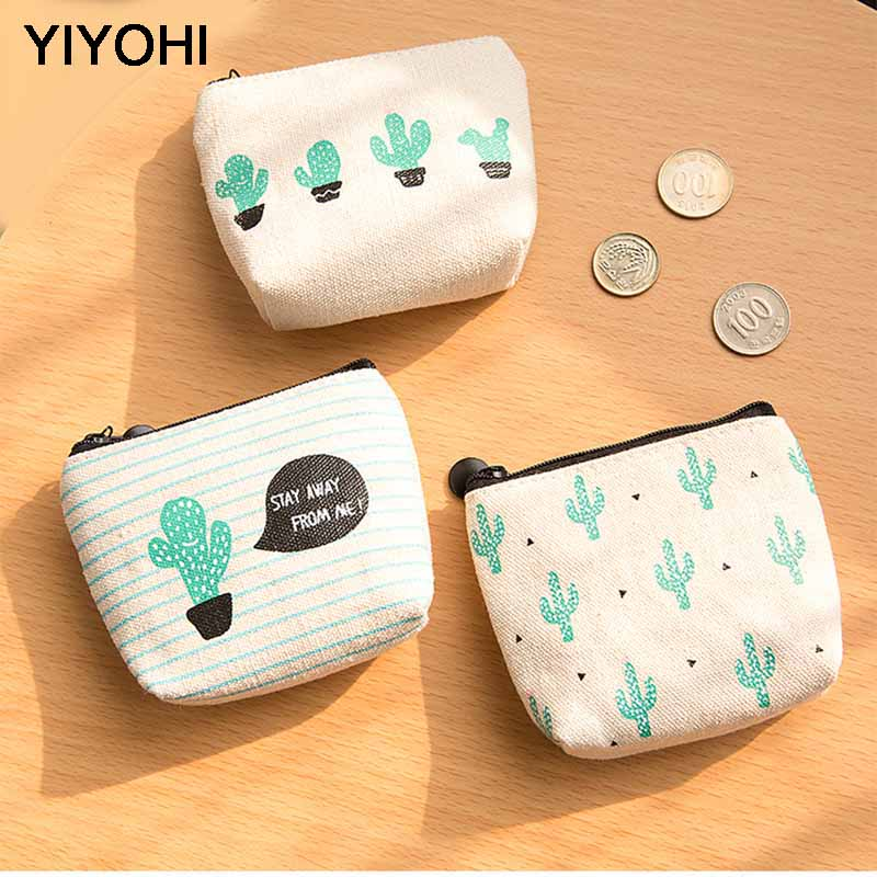 FREE Succulent Decorated Coin Purse