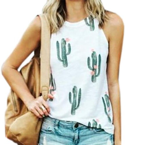 Sleeveless Summer T-shirt