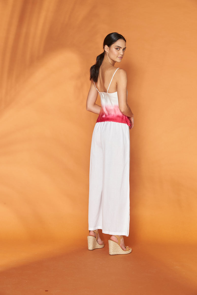 Soapstone White Wide Leg Pants