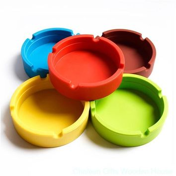 Silicone Ashtray (round)