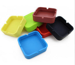 Silicone Ashtray (square)
