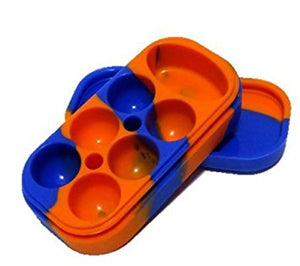 Seven Chamber Silicone Dish
