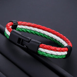 Cute National Flag Bracelets (Multiple Countries)