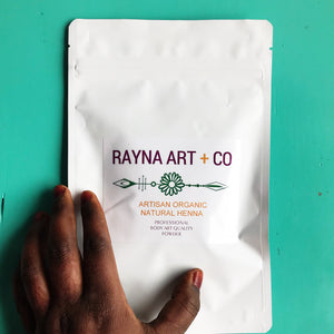 Raja Henna Powder Skin + Hair