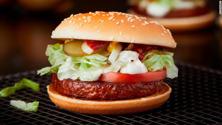 McDonald's Vegan Burger has launched!