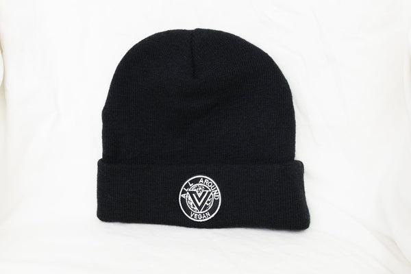 All Around Vegan Logo Beanie