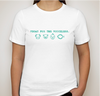 Vegan for the Voiceless - Turquoise Design