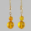 Amber Classic Drop Earrings