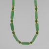 Aventurine Rectangle Necklace