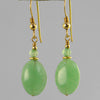 Aventurine Oval Earrings