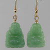 Aventurine Buddha Earrings