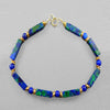 Azurite Malachite Rectangle Bracelet
