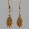 Citrine Oval Earrings