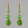 Jade Classic Drop Earrings