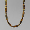 Leopardskin Jasper Rectangle Necklace