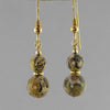 Leopardskin Jasper Classic Drop Earrings