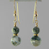 Ocean Jasper Classic Drop Earrings