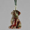 Poppy Jasper Dog Pendant