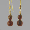 Poppy Jasper Classic Drop Earrings