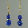 Lapis Lazuli Classic Drop Earrings
