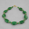 Malachite Oval Bracelet