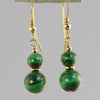 Malachite Classic Drop Earrings