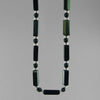 Black Onyx Rectangle Necklace