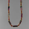 Rhodonite Rectangle Necklace
