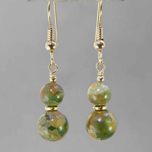 Rhyolite Classic Drop Earrings