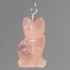 Rose Quartz Cat Pendant