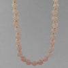 Rose Quartz Classic Round Necklace