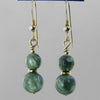 Seraphinite Classic Drop Earrings