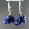 Sodalite Hippo Earrings