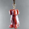Goldstone Dog Pendant
