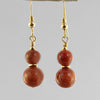 Goldstone Classic Drop Earrings