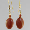 Goldstone Oval Earrings