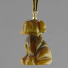 Tigereye Dog Pendant