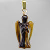 Tigereye Angel Pendant
