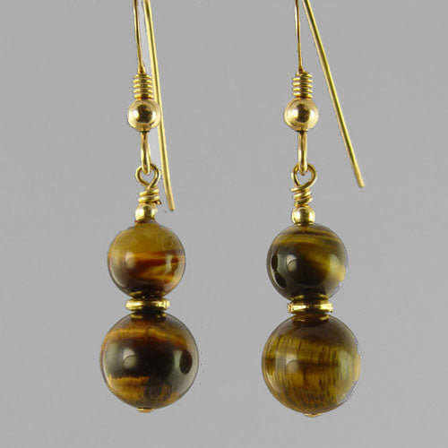 Tigereye Classic Drop Earrings