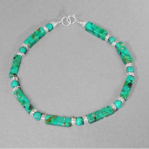 Turquoise Rectangle Bracelet