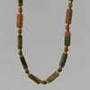 Unakite Rectangle Necklace