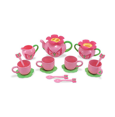 Melissa & Doug Bella Butterfly Pretend Tea Set