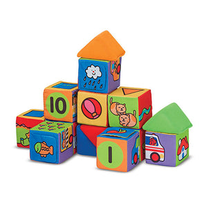 Melissa & Doug Match & Build Blocks