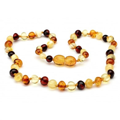Amber Monkey Amber Jewelry 10-11 inch Necklaces - Screw Clasp