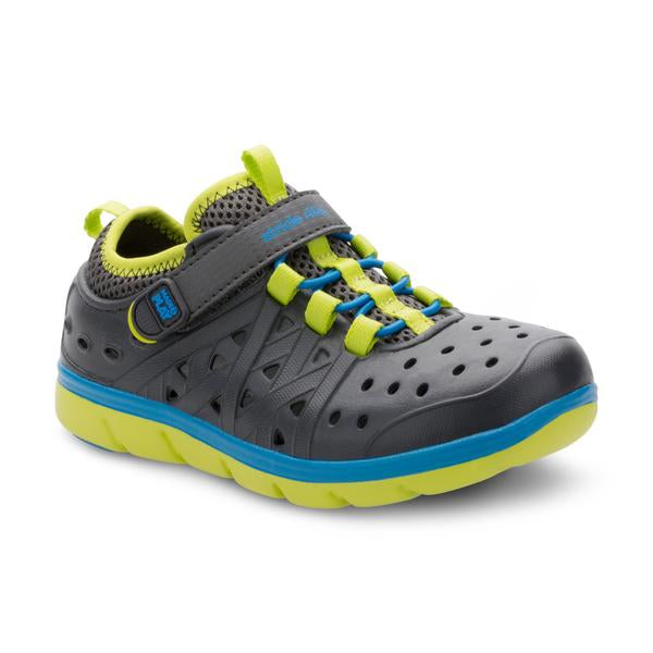 Stride Rite Phibian Grey and Blue