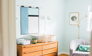 Green Baby Boy Room by Leah Phillips