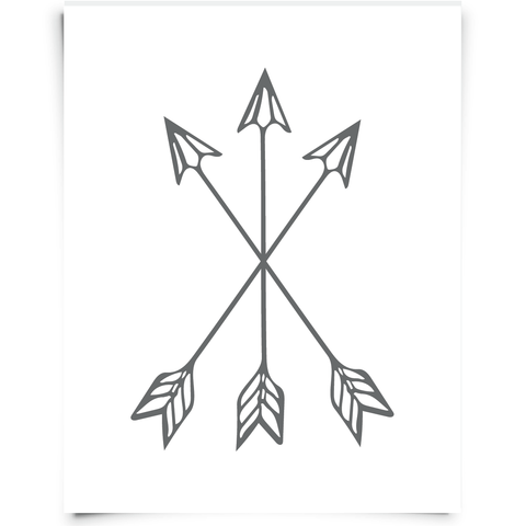 Three Arrows Free Printable